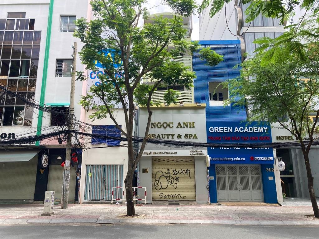 Empty streets of Ho Chi Minh City due to COVID-19
